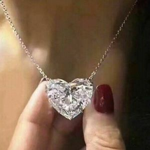 NEW 925 Sterling Silver Heart Necklace